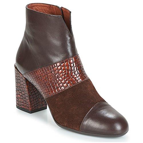 HISPANITAS SAFRON Botines/Low Boots Mujeres Marrón Botines