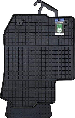 PETEX Gummimatten passend für A3 ab 1996-04/2003 Fußmatten schwarz 4-teilig