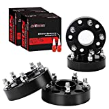 Richeer 4 PCS 1.5 inch Hubcentric Wheel Spacers 5x5 for 2007-2018 Je-e-p Wrangler JK with 1/2 Studs&71.5mm Bore, wheel spacers 5x127mm for 1999-2010 Je-e-p Grand Cherokee WJ WK, 2006-2010 Commander XK