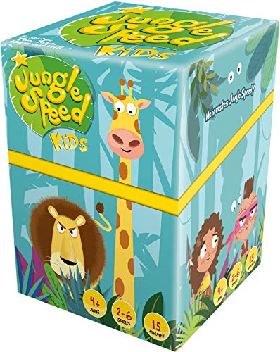 Asmodee- Jungle Speed Kids Juego de Mesa, Color 8228