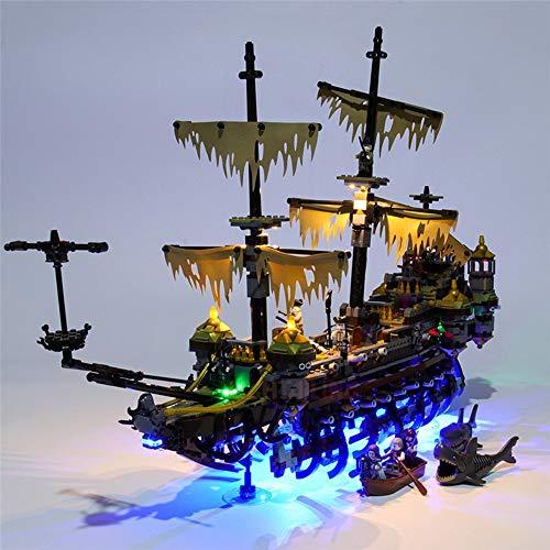 Gogh Fai da Te LED Lighting Kit per Lego 71042, Lusso Luce Decorativa Set per Natale Desktop Ringraziamento controsoffitto, Regali Perfetti (Non includere Lego Model)