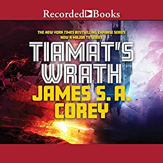Tiamat's Wrath audiobook cover art