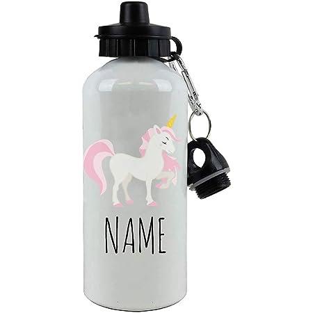 Personalised Kids Water Bottle Unicorn Children/'s Sports Drinks School B5