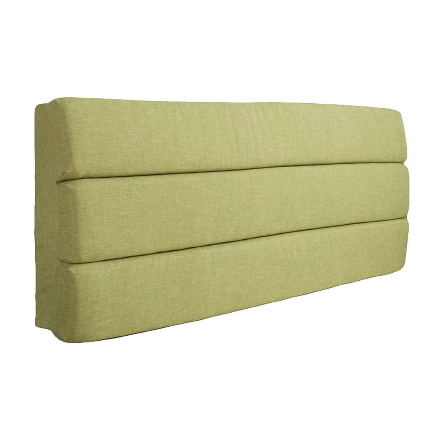 フルーツナンセンスファブリック読書クッションベッド背もたれクッションボルスターポジショニングサポート読書枕ヘッドボードクッション布張りK (Color : 7, Size : 200*60*6)
