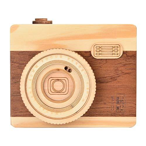 HEEPDD Caja de música de Madera