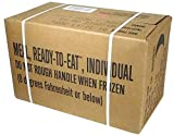MRE (Meals Ready-to-Eat Box A, Genuine U.S. Military Surplus, Menus 1-12 by Rothco