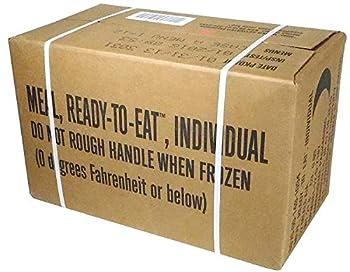 MRE  Meals Ready-to-Eat Box A Genuine U.S Military Surplus Menus 1-12 by Rothco