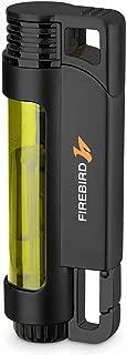 Illume Triple Torch Butane Refillable Cigar and Cigarette Lighter Transparent Yellow
