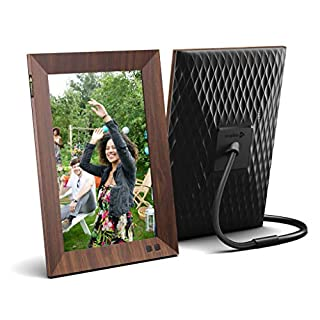 Nixplay Smart Digital Picture Frame 10.1 Inch Wood-Effect - Share Video Clips and Photos Instantly via E-Mail or App (B07VGF8S2D) | Amazon price tracker / tracking, Amazon price history charts, Amazon price watches, Amazon price drop alerts