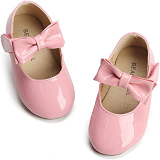 Girls' Shoes Girl's Ballerina Flat Shoes Mary Jane Dress Shoes (Little/Toddler Girls Shoes/Big Kids)