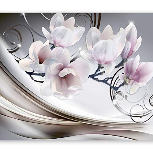 murando - Fototapete Blumen 250x175 cm - Vlies Tapete - Moderne Wanddeko - Design Tapete - Wandtapete - Wand Dekoration - Magnolien b-A-0222-a-d