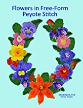 Flowers in Free-Form Peyote Stitch