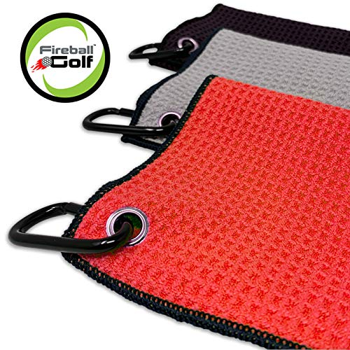 Fireball Golf Towel