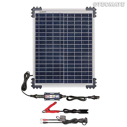 TecMate Optimate Solar accu-vriendelijk bewakingssysteem Solar oplader Solar KIT 20W