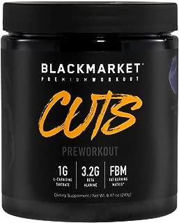 black market cuts pre workout