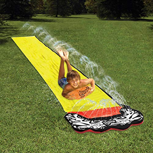 Water Slide Für Kinder Sommer Hinterhof Schwimmbad Spiele Outdoor Spielzeug Aufblasbares Spielzentrum Rutsche 4,8 M-Einzelner Schieberegler