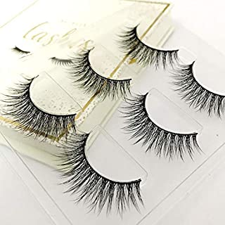 The Book of Lashes: Volume 1 - (Reusable False Eyelashes) - (Cruelty Free) - (3 Pairs)