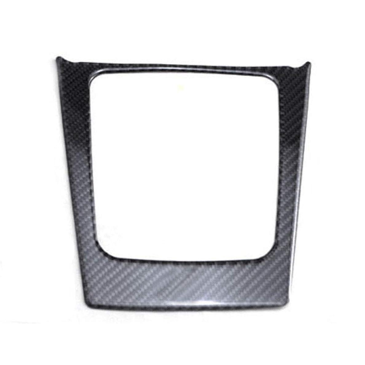 傘ボランティアアドバンテージJicorzo - Carbon Fiber Console Gear Shift Box Cover Trim Frame Interior Decor Car Styling Sticker Molding For Subaru Forester 2014 2015