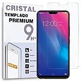 REY Protector de Pantalla para Vivo Y85 / Vivo V9 / Vivo X21, Cristal Vidrio Templado Premium