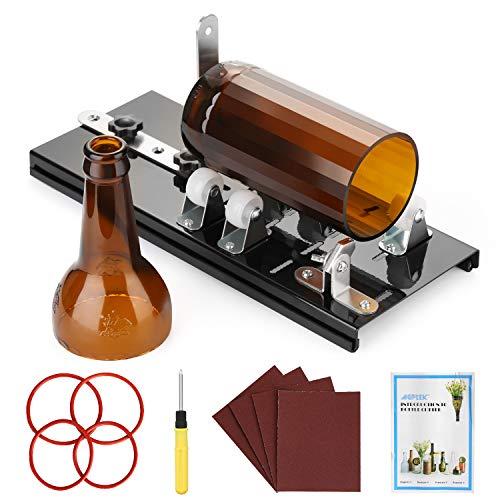 AGPTEK Kit de cortador de botellas de vidrio, botella de vino ...