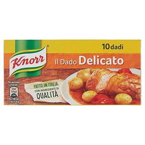 Knorr Dado Delicato 10 Cubetti, 100g