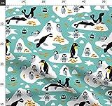 Pinguin, Seehund, Winter, Baby, Fisch Stoffe - Individuell