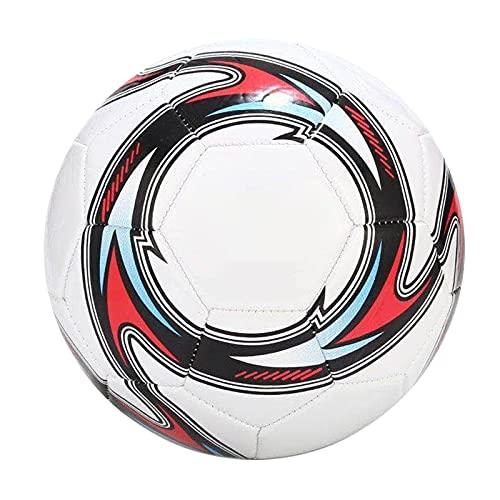 HechoVinen Tamaño 5 Tradicional Balón de Fútbol Entrenamiento Equipo de Fútbol Entrenamiento Niños Fútbol Fútbol para la Práctica de Recreación Diferentes Edades Actividades al Aire Libre