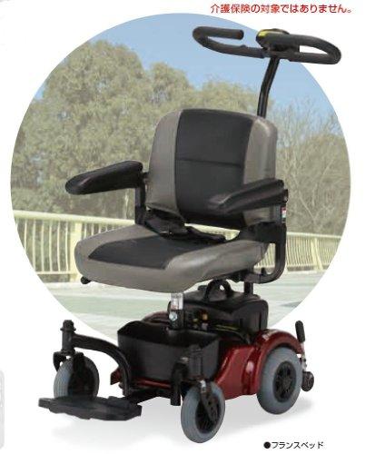 2012年新作 フランスベッド メディカルサービス リハテック シリーズ SP-40( 電動介助式4輪車椅子 )  ノーパンクタイヤ