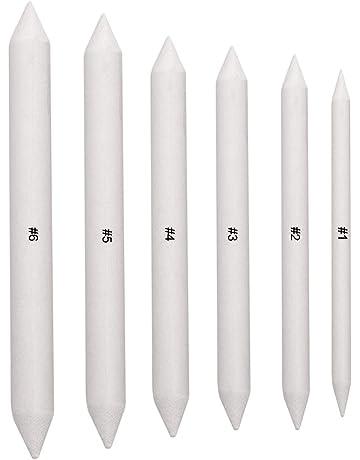 Set di 6 stampi a doppia testa per schizzi per sfumare e disegnare gli accessori per studenti