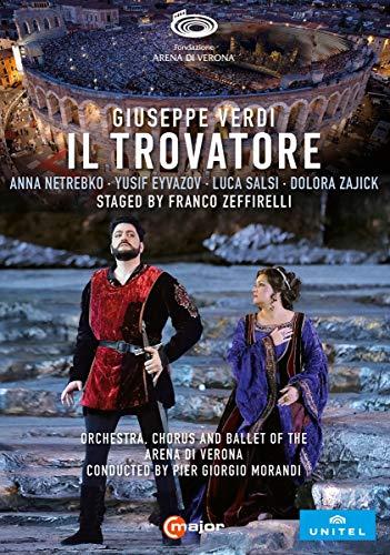 Verdi: Il Trovatore [Anna Netrebko; Yusif Eyvazov; Arena di Verona, Italy, June 2019] [2 DVDs]