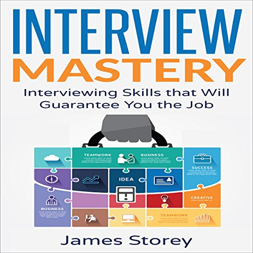Interview Mastery audiobook cover art