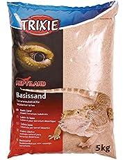 Trixie Base Sand (Giallo) - substrato terrario per terrari del Deserto - 5 kg Borsa