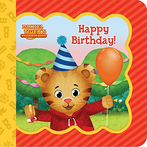 Happy Birthday! (Daniel Tiger's Neighborhood: Little Bird Greetings: Keepsake Card Board Book With Personalization Flap)