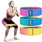 BEVILLE Fasce di resistenza , fasce per il fitness in colori misti per l'attivazione dei muscoli glutei, allenamento dell'anca, allenamento della forza, costruzione muscolare