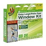 Duck Brand Indoor Window Shrink Film Insulator Kit, (2 Pack Extra Large Window)