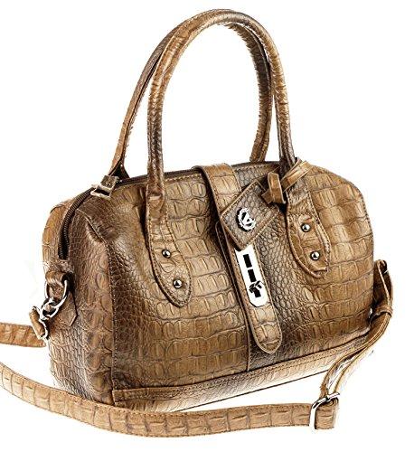 Valleverde Ital-Design BOWLING Bag Tasche Schultertasche Umhängetasche