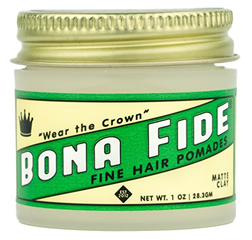 Bona Fide Pomade, Matte Clay, 1 oz.