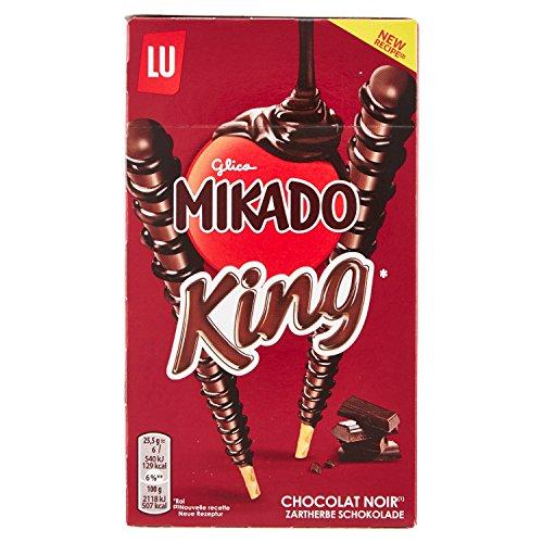 Mikado Saiwa King Cioccolato Fondente - 51 g