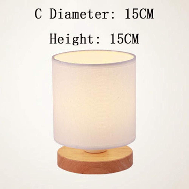 Tischlampe Moderne Einfachheit Stil Holztisch Lampe Wohnzimmer Schlafzimmer Neben Lesen Nachtlicht Retro Polyeder Innen Schreibtisch Licht