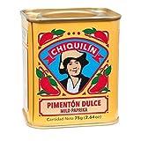 CHIQUILÍN - Lata de pimentón dulce de 75 gramos - Productos Gourmet desde 1909