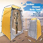 Pop Up Changing Room Privacy Tent | Instant Portable Outdoor Shower Room, Camp Toilet, Foldable Rain Shelter For Camping…