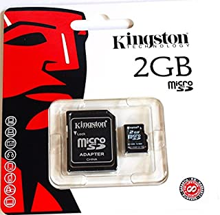 2GB Kingston Micro SD Memory Card + SD Adapter Brand new (B001O40J0C) | Amazon price tracker / tracking, Amazon price history charts, Amazon price watches, Amazon price drop alerts