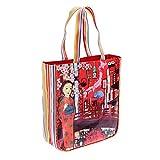 Wendekreis Berlin 41102334 - Shopper Tokyo Night süße Einkaufs-Tasche, ca. 31x36x9cm