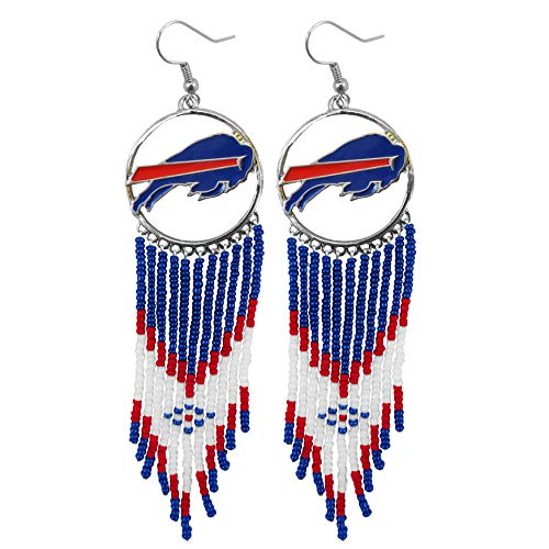 Littlearth NFL Buffalo Bills Dreamcatcher Earring