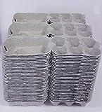 Hueveras de cartón para 6 huevos, lote de 105 piezas