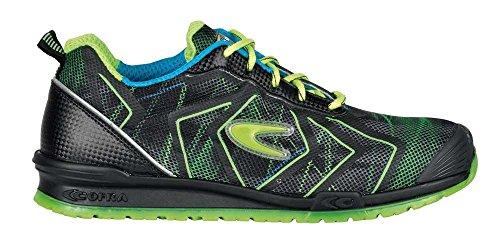 COFRA Moderne Sicherheitshalbschuhe DRISCOL S1P SRC im Sneakerlook in Mehreren Farben Running Re (41, grün)