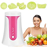 Face Mask Machine, Onekey Operate Smart DIY Fruit Vegetable Facial Mask Maker With Collagen Effervescent Tablets for Eye Chest Hand Neck Skin Care