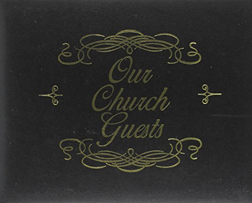 Our Church Guests: Black Bonded Leather, Gilded Page-Edges (Bonded Leather Guest Books)