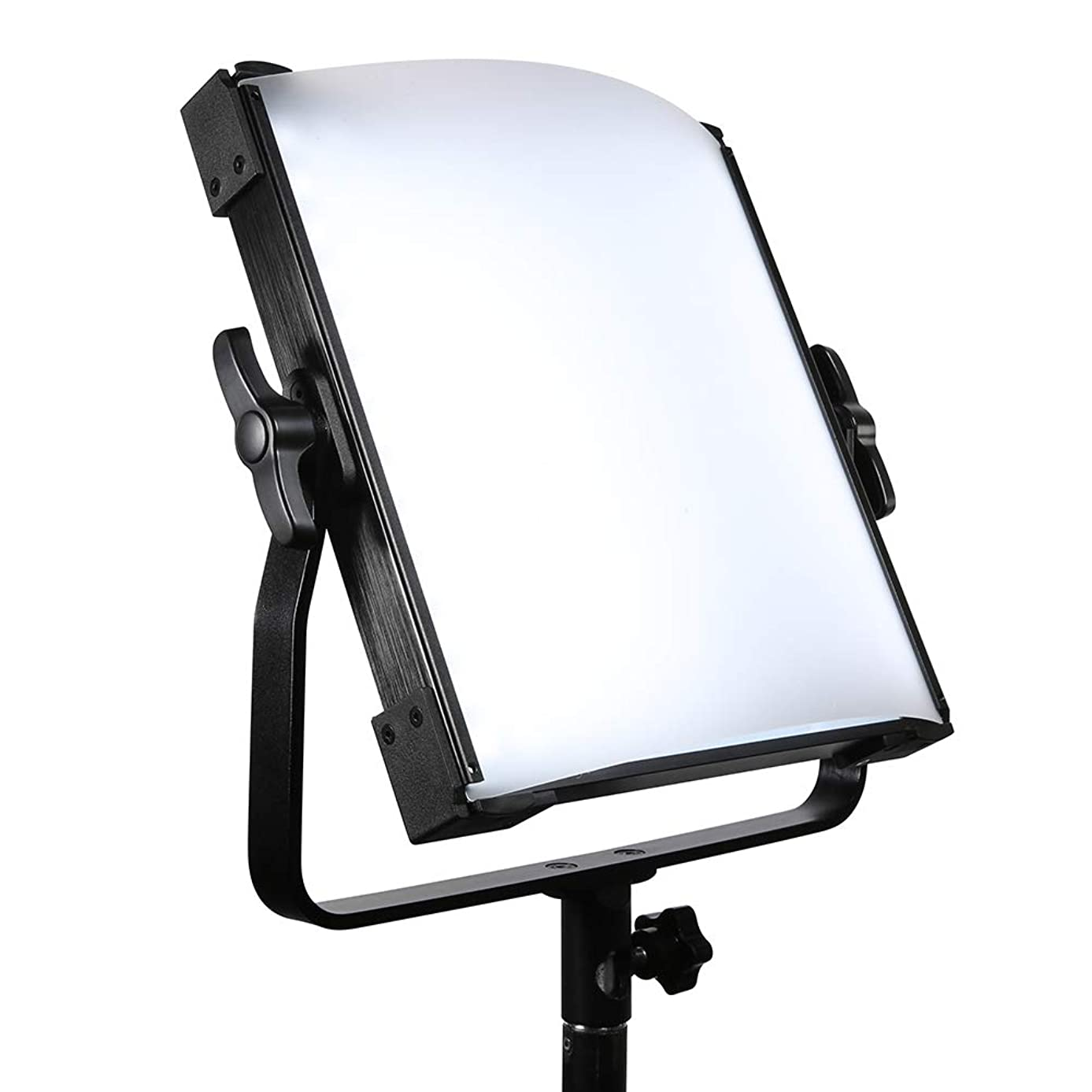 LED Video Light,Dimmable Bi-Color Panel Light 3000K-8000K for YouTube, Live Broadcast, Outdoor Video Shooting, interviews,Studio Photography Interview YouTube,80W,CRI96+