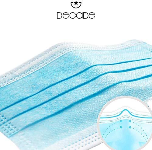 Derma-Test: Sehr Gut 50x geprüfte Masken Made IN Germany Medizinische Mundschutz Maske – TYP II BFE 98% 3-lagige Gesichtsmaske EN 14683:2019 Atemmaske Atemschutzmaske - 3